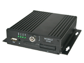 4-х канальный автомобильный AHD видеорегистратор 720P, SD карта до 256 Гб