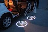 Логотип подсветки дверей автомобиля