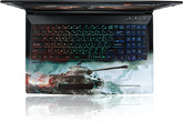 Ноутбук MSI GP62 8RC-083RU World of Tanks Edition