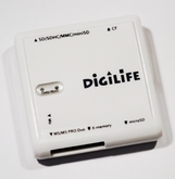 Картридер All-in-1 DigiLife, белый