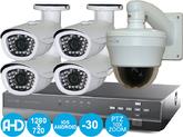 Комплект Видеонаблюдения AHD Зрячий Глаз 8+4+1