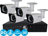 Комплект видеонаблюдения AHD Дача Элит 2Mpx