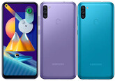 Смартфон Samsung SM-M115F Galaxy M11 3/32Gb Torquise