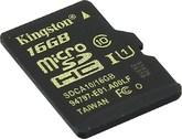 micro SDHC карта памяти Kingston 16GB Class10 UHS-I U1  R/W 90/45 MB/s без адаптера (SDCA10/16GBSP)
