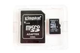 micro SDHC карта памяти Kingston 8GB Mobility Kit Class4 (MBLY4G2/8GB)