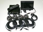 Набор видеонаблюдения на транспорте GPS, 2SD карты, 1.0 Mpx 4+4