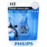 Галогеновые лампы Philips H3 BlueVision ultra