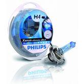 Галогеновые лампы Philips H4 BlueVision ultra