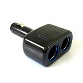 Разветвитель прикуривателя VOYAGE 12/24В 2 гнезда + USB, WF-201