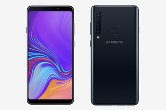 Смартфон Samsung Galaxy A7 (2018) 4/64GB Black (Черный)