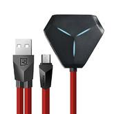 USB HUB Remax 3USB + OTG microUSB RU-U3