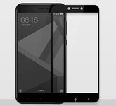 Защитное стекло 2D для Xiaomi Redmi 4X черное