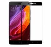 Защитное стекло для Xiaomi Redmi Note 4X 2Dчерное