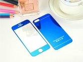 Защитное стекло для iPhone 4/4s двухстороннее синее