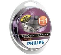 Галогеновые лампы Philips H1 NightGuide DoubleLife