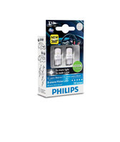 Светодиоды Philips LED W5W T10 White Light Vision 4000K (129644000KX2)