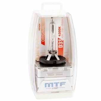Ксеноновая лампа MTF Light D3S 4300K Original