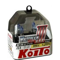 Галогеновые лампы Koito WhiteBeam III — H1 4200K