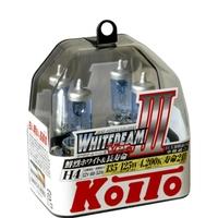 Галогеновые лампы Koito WhiteBeam III — H4 4200K
