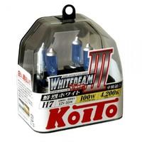 Галогеновые лампы Koito WhiteBeam III — H7 4200K