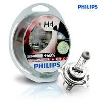 Галогеновые лампы Philips H4 VisionPlus (+60%)
