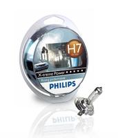 Галогеновые лампы Philips H7 X-Treme Power (+80%)