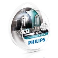 Галогеновые лампы Philips H7 X-Treme Vision (+100%)