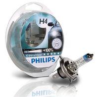 Галогеновые лампы Philips H4 X-Treme Vision (+100%)