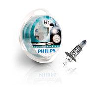 Галогеновые лампы Philips H1 X-Treme Vision (+100%)